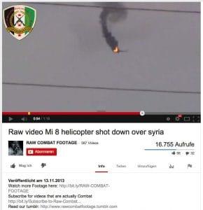 Pro-Russen tricksen ARD und ZDF mit Hubschrauber-Abschuss aus Abschuss Hubschrauber Ukraine Syrien ARD ZDF Fake Bildschirmfoto 2014-05-31 um 16.37.33