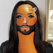 Conchita-Wurst_modified_Gender_con shit a wurst european saussage contest eurovision ESC