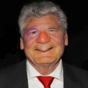 Gauck und Merkel Joachim Gaukler Guess August der Nation Bundespraesident Placebo Politiker Luegner Intrigant Schleimer Pastor Prediger qpress