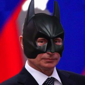 Russland gewinnt sensationell den großen NATO-FeindBILD Wettbewerb Putin als Batman fuer die NATO neues FeindBILD Ersatz fuer Terror