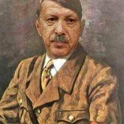 Recep Tayyip Erdogan Adolf Hitler Mischung Diktatur Europa Tuerkei Beitritt