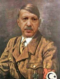 Die Türken wollen mehrheitlich so eine Art Faschismus Recep Tayyip Erdogan Adolf Hitler Mischung Diktatur Europa Tuerkei Beitritt