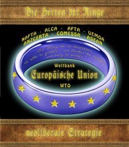 Der große Plan - Schachmatt Deutschland und Europa Ein Ring sie zu knechten, sie alle zu finden ins Dunkel zu treiben, auf ewig zu binden