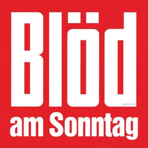 Deutsche Leidmedien dürfen auf staatliche Rettung hoffen Bild Bloed am Sonntag Logo