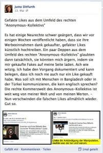 Bildschirmfoto Facebook Jutta Ditfurth 2014-06-09 um 18.42.46