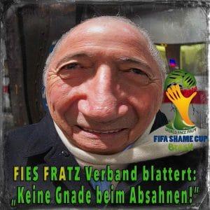 "FIFA World Shame Cup Brasil beginnt: ""Lasst die Gewinne fließen"" Blatter, Sepp FIFA Absahner Brasilien WM2014 Bestechung Fussball"