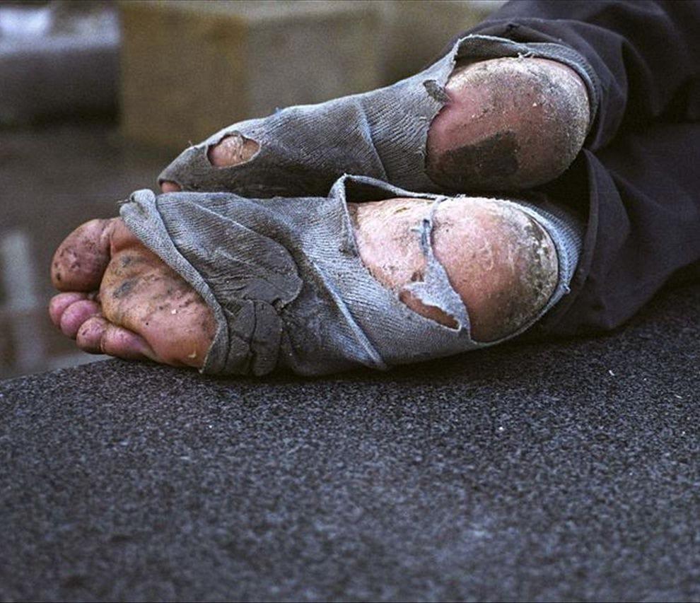 Obdachlosigkeit kampf gegen Armut Globalisierung Verarmung