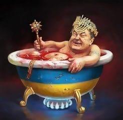 Poroschenko folgt nach seiner Abwahl dem Beispiel Obamas: Destruktion