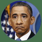 United States USA leader barack hussein obama  qpress idiot Power