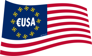 EUSA faseln Sanktionserfolge gegen Russland herbei, neues 9/11 Kausalketten-Staccato Flag_of_the_United_States europe europa EUSA faschisten qpress