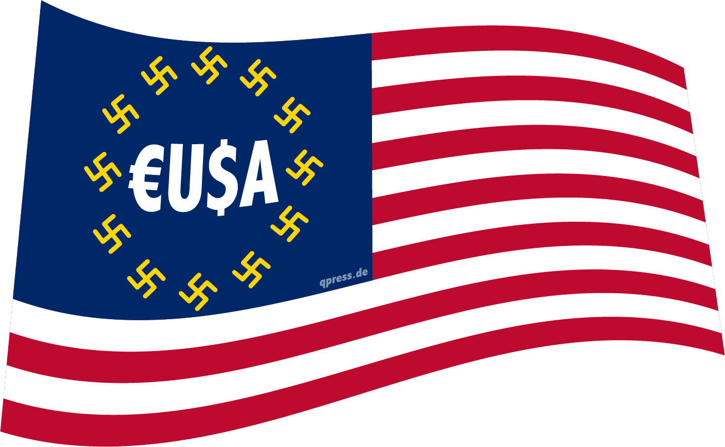 Flag_of_the_United_States europe europa EUSA faschisten qpress