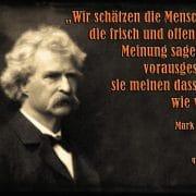 Mark Twain - Meinungsfreiheit