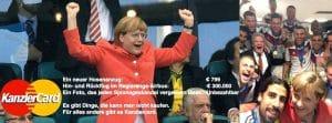 Weltmeistertitel weg, Deutschland in Schockstarre, Spiel muss wiederholt werden Merkel Dienstreise nach Brasilien zum Fussballendspiel