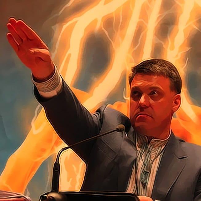 Svoboda Fuehrer Tjagnibok rechter sektor ukraine faschisten