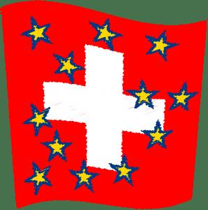 Schweiz zu wenig neutral, EU fordert totale Neutralisierung Flag_of_Switzerland schwizer Flagge Kaese durchloechert neutralitaet verloren sanktionen gegen russland qpress