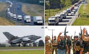 """Neusprech """"Hilfsgüter"""" - Linguistische Katastrophenhilfe für Anfänger Hilfskonvoi und humanitäre Hilfe"""