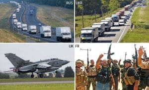 Hilfskonvoi und humanitäre Hilfe