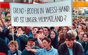 Nürnberger Anstalt sanktioniert fehlende Bewegungsunfähigkeit Grund und Boden in Wessihand, wo ist unser Heimatland