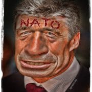 Anders Fogh Rasmussen Hassmussen NATO Generalsekretaer Kriegstreiber Luegner Spalter