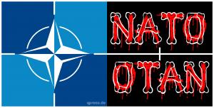 Niemand hat die Absicht eine Mauer zu errichten, außer Arsenij Jazenjuk NATO_OTAN_landscape_logo_nord_atlatische_terror_organisation_150_qp