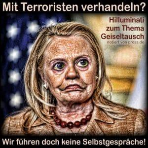USA ganz präsidial: Giftgas Hillary gegen Teenie Fucker Trump hilluminati_hilary_clinton_terrorismus_verhandlung_geiseltausch_keine_gespraeche_hardliner_qpress