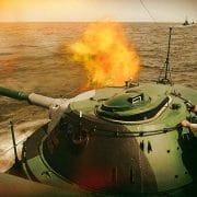 russische Marine beim Warmschiessen einheizen seemanoever seeschlacht kriegsspiele zur See golf von mexiko