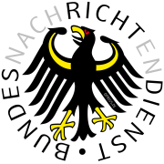Hetzschriften an deutschen Universitäten aufgetaucht, Verfassungsschutz ermittelt Bundesadler Bundesorgane BND Bundesnachrichtendienst Geheimdienst Luegenapparat Logo qpress