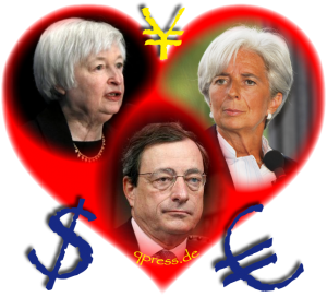 Euro für die Ewigkeit bald Vergangenheit Heart and Soul of Gold Herz und Seele des Geldes currencies Draghi Lagarde Yellen Euro Dollar Money qpress fakeworld EZB Zentralbank Geldschwindel Betrueger-01