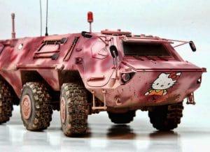 Bundeswehr rüstet auf Hello Hitty Fuchs spuerpanzer fuer die daemlichkeiten panzer Bundeswehr Kreigsgeraet