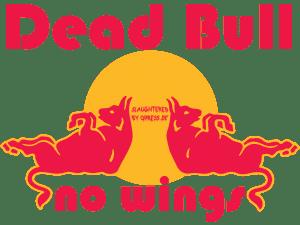 Red Bull stürzt in den USA ab, die Lüge mit den Flügeln fliegt auf Red Dead Bull logo 150dpi no wings product fraud slaughtered false promisses falsche Versprechen by qpress
