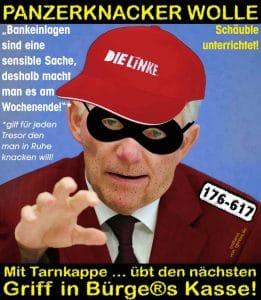Bargeldnutzung erhöht Alzheimerrisiko Alzheimerrisiko Schäube Panzerknacker