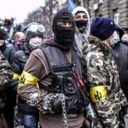 ukraine rechter sektor deustche werte streiter fuer deutschtum und eine saubere rasse rassisten neonazis gewaltbereite vollpfosten Idioten