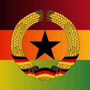 Flag_of_Ghana_Germany_Deutschland_DDR_Fußball_WM
