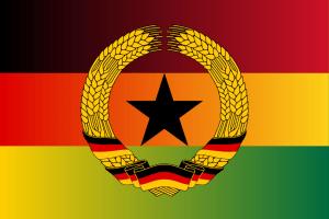 Ghana fürgegen Deutschland, die geheime Fußballreportage Flag_of_Ghana_Germany_Deutschland_DDR_Fußball_WM