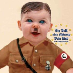 Klein adolf hitler von braun bis Braunau schenk der Euro Fuehrung Dein Kind Staat Erziehung wem gehoeren die Kinder