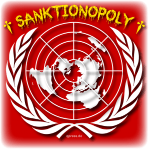 Sanktionen gegen Syrien zur Sicherung des Flüchtlingsnachschubs UN Uno Nothings Logo_of_the_United_Nations_Sanctions Sanktionopoli USA Russland sanktionen spielchen