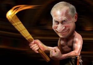 Ukraine-Friedensmarsch Vladimir_Putin_Fackel_DonkeyHotey_Dikatator_Unruhestifter_Uebeltaeter_Unhold_Hassfigur_Feindbild