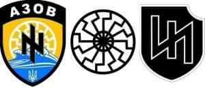 Spendenaufruf für Waffenlieferungen an die Ukraine ukraine symbole nazis wolfsangel ss-runen und asow batallion