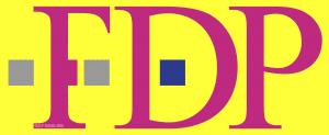Deutsche FDP Telekom neues Logo der Liberalen