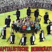 Kapitalistische marktkonforme Demokratie ueberwachung diktatur bespitzelung Ausforschung regierungskriminalitaet qpress