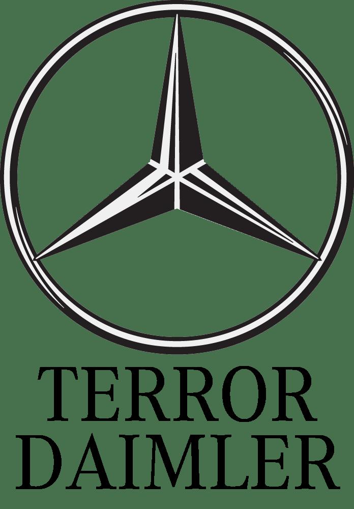 Mercedes Benz Daimler Terror Logo Mitarbeiter Ueberwachung Kontrolle US Vorgabe Vasallentum