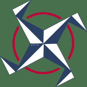 NATO_Windmuehle__signet_Logo_Nazibude_weiss_blau_qpress