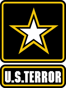 US Army Terror Logo signet Milizen USS Europe