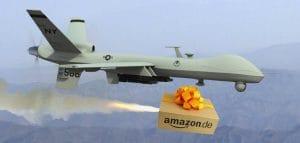 Drohnenangriff auf Obama am Weißen Haus General Atomics MQ-1 Predator Drone launching a Hellfire Missile