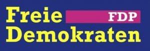 neues FDP Logo blau gelb Telekom schwul farbe letzter Versuch