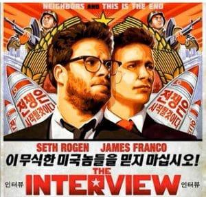 the interview filmplakat nordkorea sanktionen usa obama diktatur