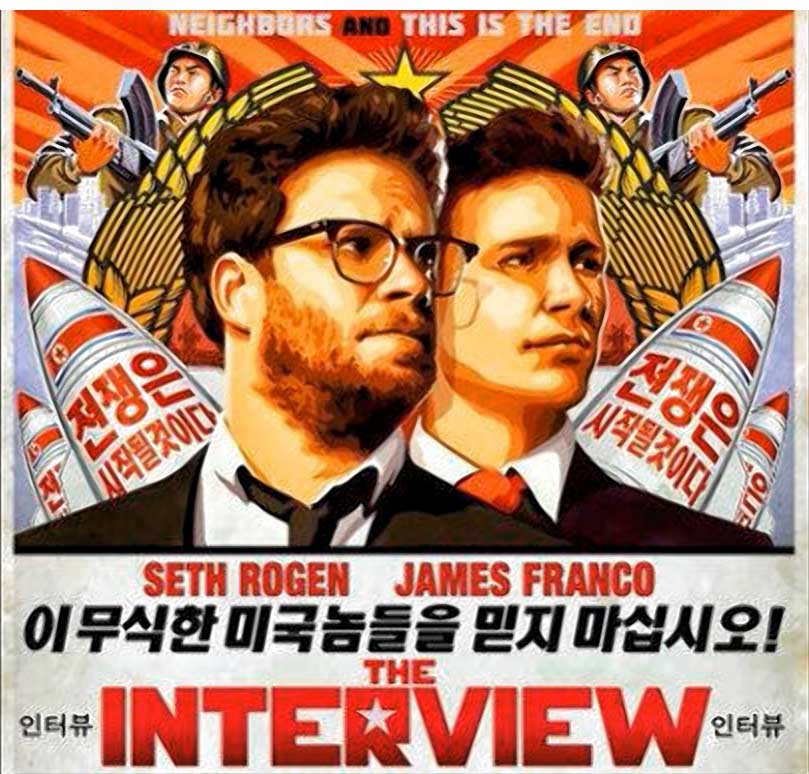 the interview filmplakat nordkorea sanktionen usa obama diktatur