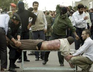 lashiran auspeitschung im iran scharia strafe kulturkut und glauben