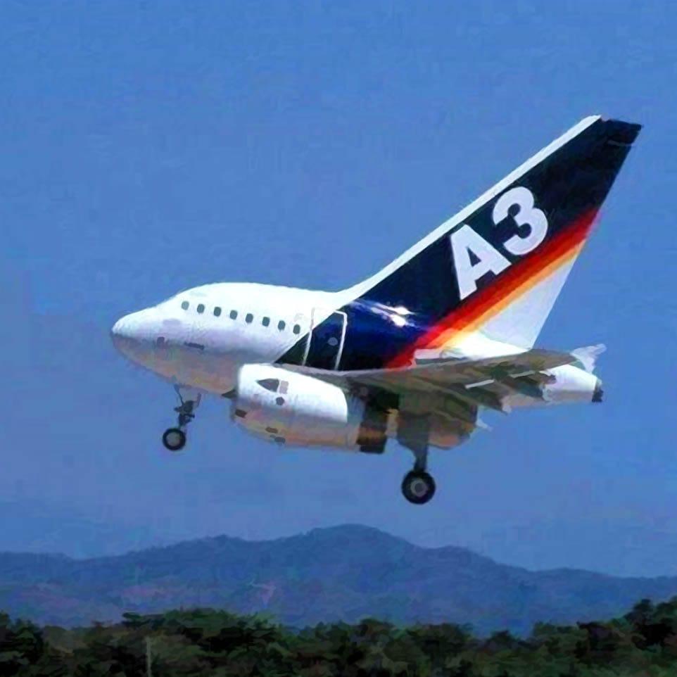 Airbus prototypen verkuerzte Variante fuer autopilotentest