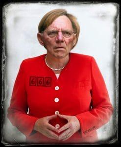 Kopftransplantation Angela_Merkel_Wolfgang_Schaeuble_Schaeuberkel_Merkschaeubl_Kopftransplantation_erfolgreicher_Versuch_Angola_Murksel_qpress